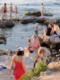 Sebastopol beach Stock Photography