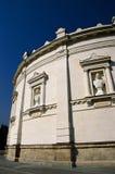 Sebastopol: openluchtmuur van het Panoramamuseum Stock Foto