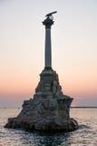 Sebastopoli, monumento Fotografia Stock Libera da Diritti