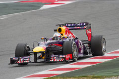 Sebatian Vettel of Red Bull Stock Images