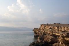 Sebbene ci sia poca consapevolezza fra le isole di Cicladi, è un koufonisia dell'isola che attira l'attenzione con il suo beautif Fotografie Stock