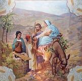 Sebechleby - lot Egipt fresk zdjęcie stock