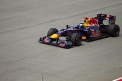 Sebestian Vettel at the malaysian formula 1 race Stock Image