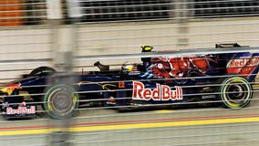 Sebestien Buemi qualifying at Singapore F1 Stock Image