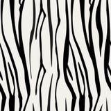 Sebran gör randig den sömlösa modellen Sebratryck, djur hud, tigerband, abstrakt modell, linje bakgrund, tyg stock illustrationer