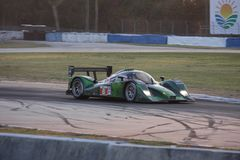 Sebring Racing Car Circuit Stock Photo