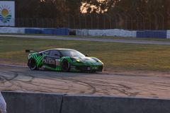 Sebring Racing Car Circuit Royalty Free Stock Photography