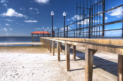 Sebring Stadt-Pier, Florida Lizenzfreie Stockfotografie