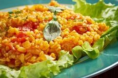 Sebzeli Bulgur Pilavı Stock Images