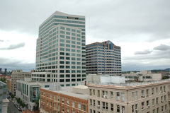 Secção transversal dos edifícios Fotos de Stock Royalty Free