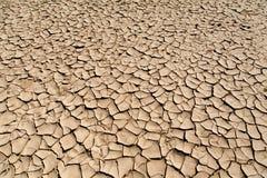 Seca e desertificação Fotos de Stock Royalty Free