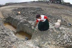 Seca em Indonésia Imagem de Stock