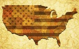 Seca histórica nos EUA Fotografia de Stock Royalty Free