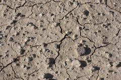 Seca - terra rachada seca Foto de Stock Royalty Free