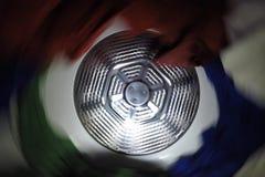 Secador de giro interior de la ropa Foto de archivo