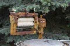 Secador de paños Foto de archivo