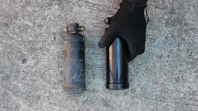 Secador del receptor del coche del aire acondicionado metrajes