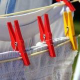Secador rotatorio de la ropa Foto de archivo