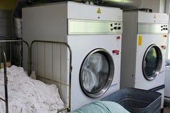 Secadores de la lavandería Foto de archivo