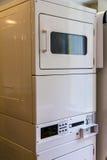 Secadores de vestir empilados Fotografía de archivo