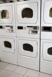 Secadores del autoservicio en lavadero Imagen de archivo