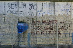A secant of the berlin wall Royalty Free Stock Photography