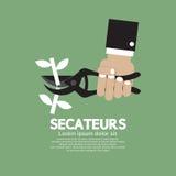 Secateurs εργαλείο κηπουρικής Στοκ φωτογραφίες με δικαίωμα ελεύθερης χρήσης
