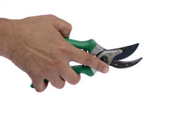 secateurs narzędzia obraz stock