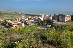 Secca grande, Sicilia, Italia Fotografie Stock