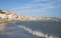 Secca Grande, Sicily, Italy Royalty Free Stock Photography