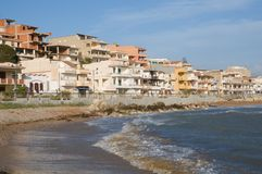 Secca Grande, Sicily, Italy Stock Photo
