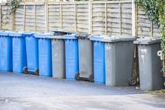 Secchi della spazzatura Fotografie Stock