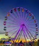 Secchi di notte di colore fotografia stock libera da diritti
