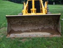 Secchio dell'escavatore a cucchiaia rovescia Fotografia Stock Libera da Diritti