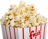 Secchio di popcorn Immagine Stock