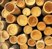 Sección de bambú Fotos de archivo libres de regalías
