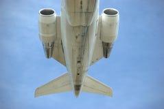 Sección de cola del jet imágenes de archivo libres de regalías