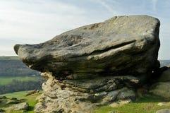 Sección de la roca en el districto máximo Imagenes de archivo