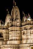 Sección del detalle del templo hindú Fotografía de archivo