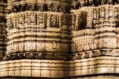 Sección del detalle del templo hindú Fotos de archivo libres de regalías