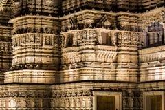 Sección del detalle del templo hindú Fotografía de archivo libre de regalías