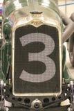 Sección del frente de racecar viejo Imagenes de archivo