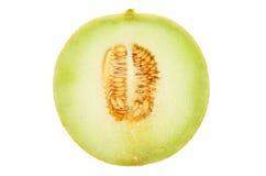 Sección del melón de Galia Imagenes de archivo