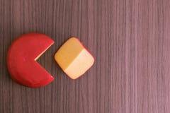 Sección del queso Imagen de archivo libre de regalías