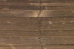 Sección lateral de la pila de papel industrial para el empaquetado del producto Foto de archivo libre de regalías