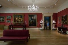 Sección occidental del arte, museo de Ashmolean Foto de archivo