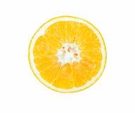 Sección representativa de la naranja Foto de archivo