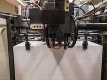 Secciones de las impresoras imagen de archivo