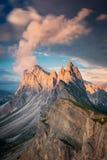 Seceda, Dolomites Italy royalty free stock photos