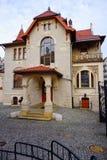 Secesi muzeum w Kindermana willi - Miejska galeria sztuki w Łódzkim Obraz Royalty Free